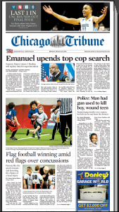 Tribune Emanuel upends search